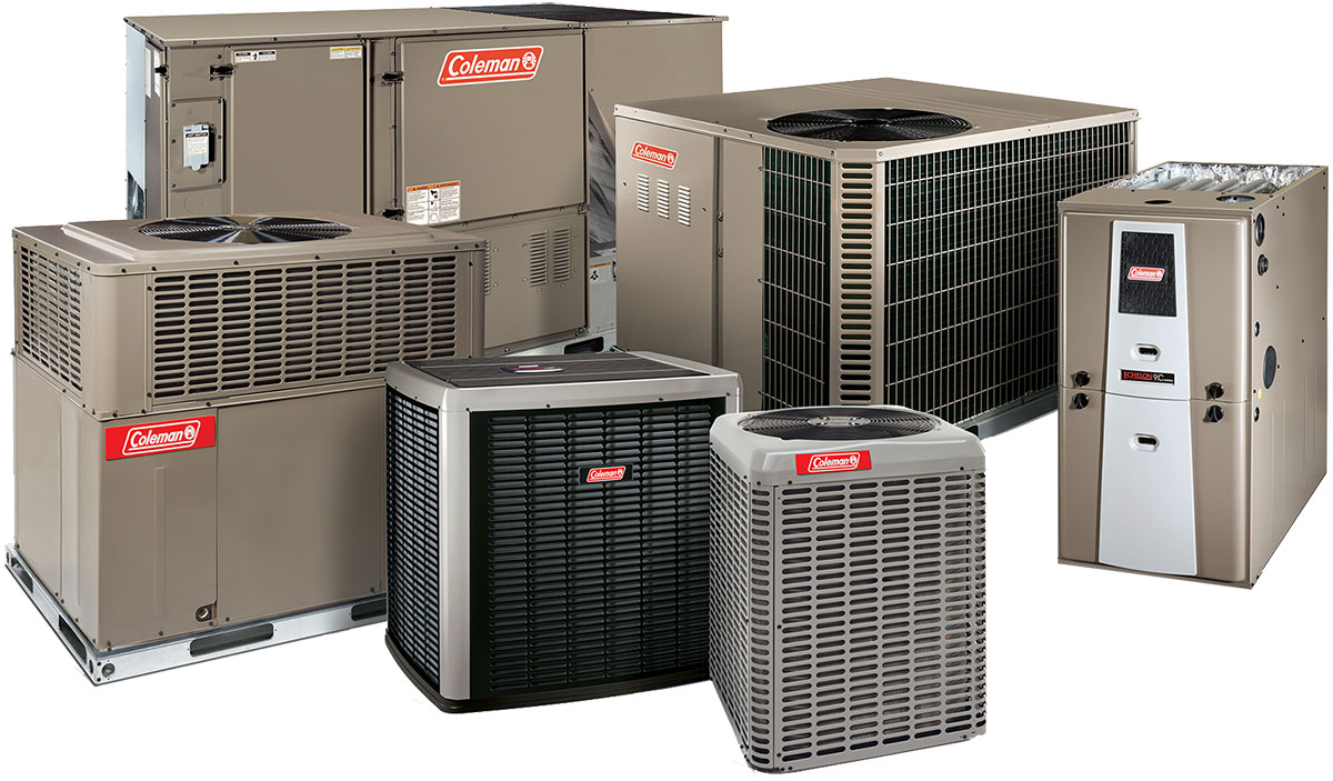 Our Coleman HVAC Products